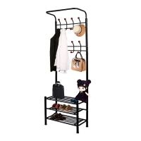 New Hall Tree Hat Coat Rack Stand Bench Shelf Shoes