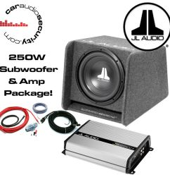 details about jl audio cp110 10 enclosed basswedge ported jl jx250 1 amplifier wiring kit [ 1000 x 1000 Pixel ]