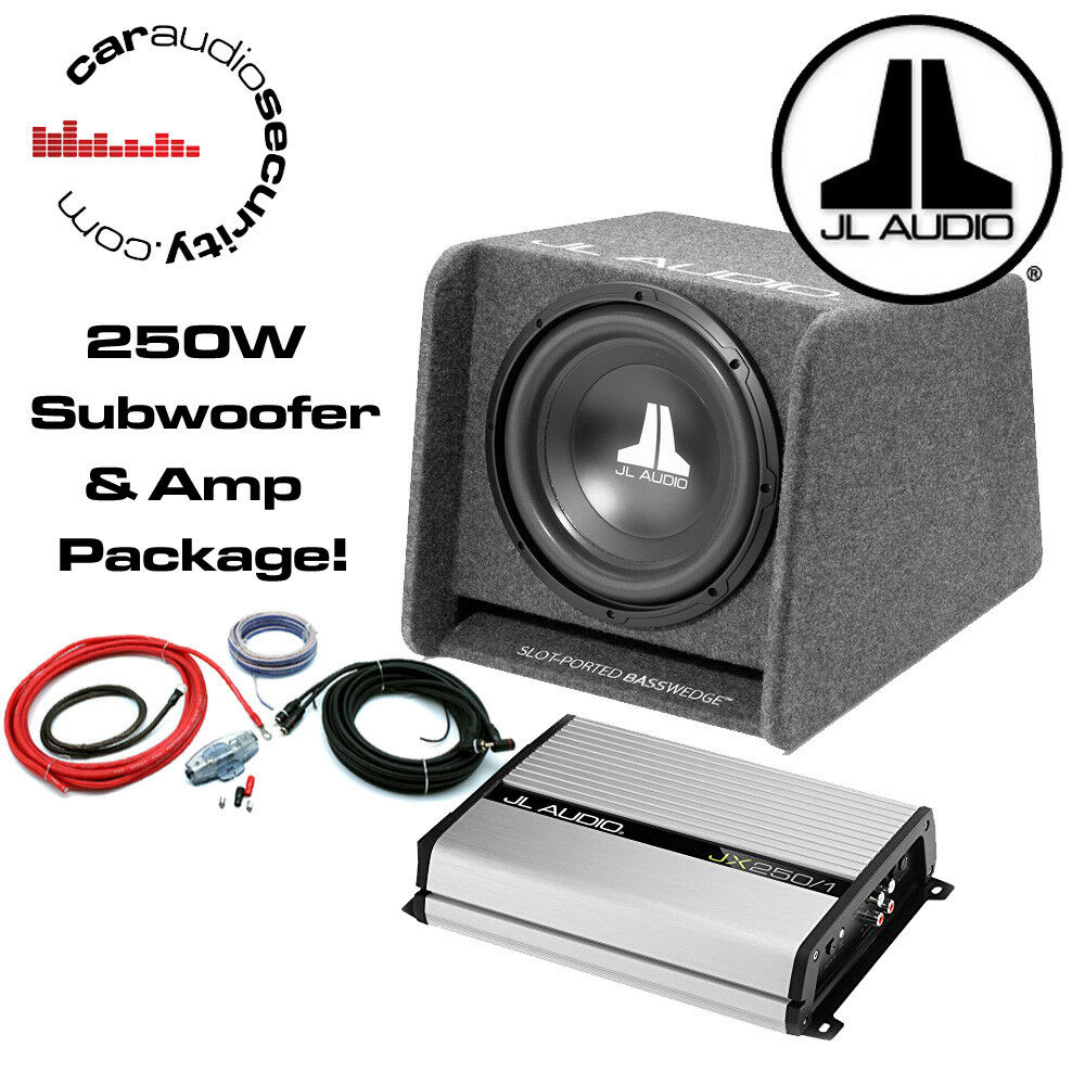 hight resolution of details about jl audio cp110 10 enclosed basswedge ported jl jx250 1 amplifier wiring kit