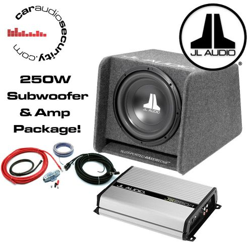 small resolution of details about jl audio cp110 10 enclosed basswedge ported jl jx250 1 amplifier wiring kit