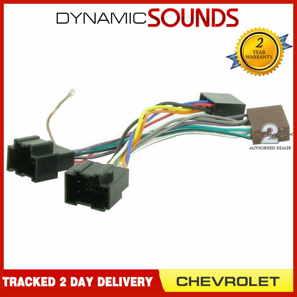 hight resolution of details about ct20cv01 car stereo radio wiring harness adapter lead iso loom for chevrolet