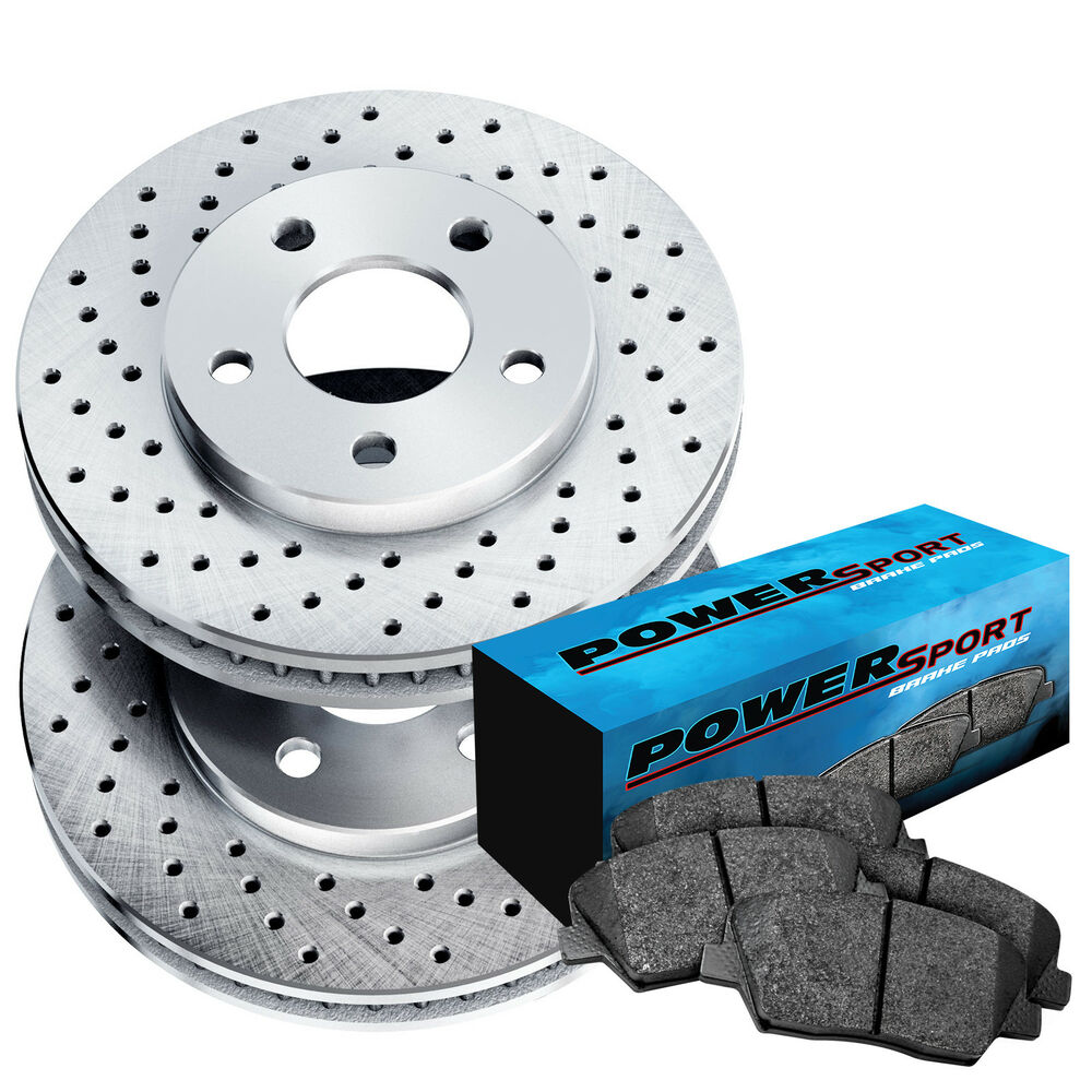 medium resolution of details about fit toyota solara sienna camry front drilled brake rotors ceramic brake pads