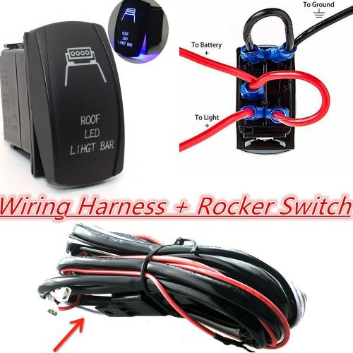small resolution of  led rocker switch wiring diagram 12v 4x4 offroad roof led light bar wiring harness laser