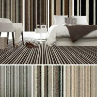 Brown Striped Carpet, Beige Stripe Carpet, Cheap Carpets