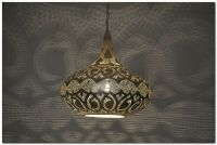 Handcrafted Moroccan Silver Plated Brass Lighting Lantern ...