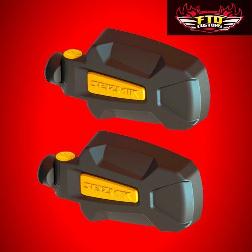 small resolution of details about seizmik pursuit yellow hd side view mirrors polaris rzr xp 1000 900 800