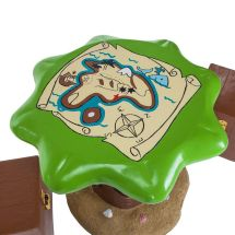 Kids Pirate Outdoor Garden Patio Table & Stools Furniture