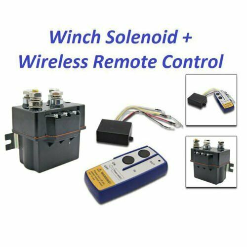 small resolution of details about 12v contactor heavy duty solenoid relay wireless remote control winch fix warn