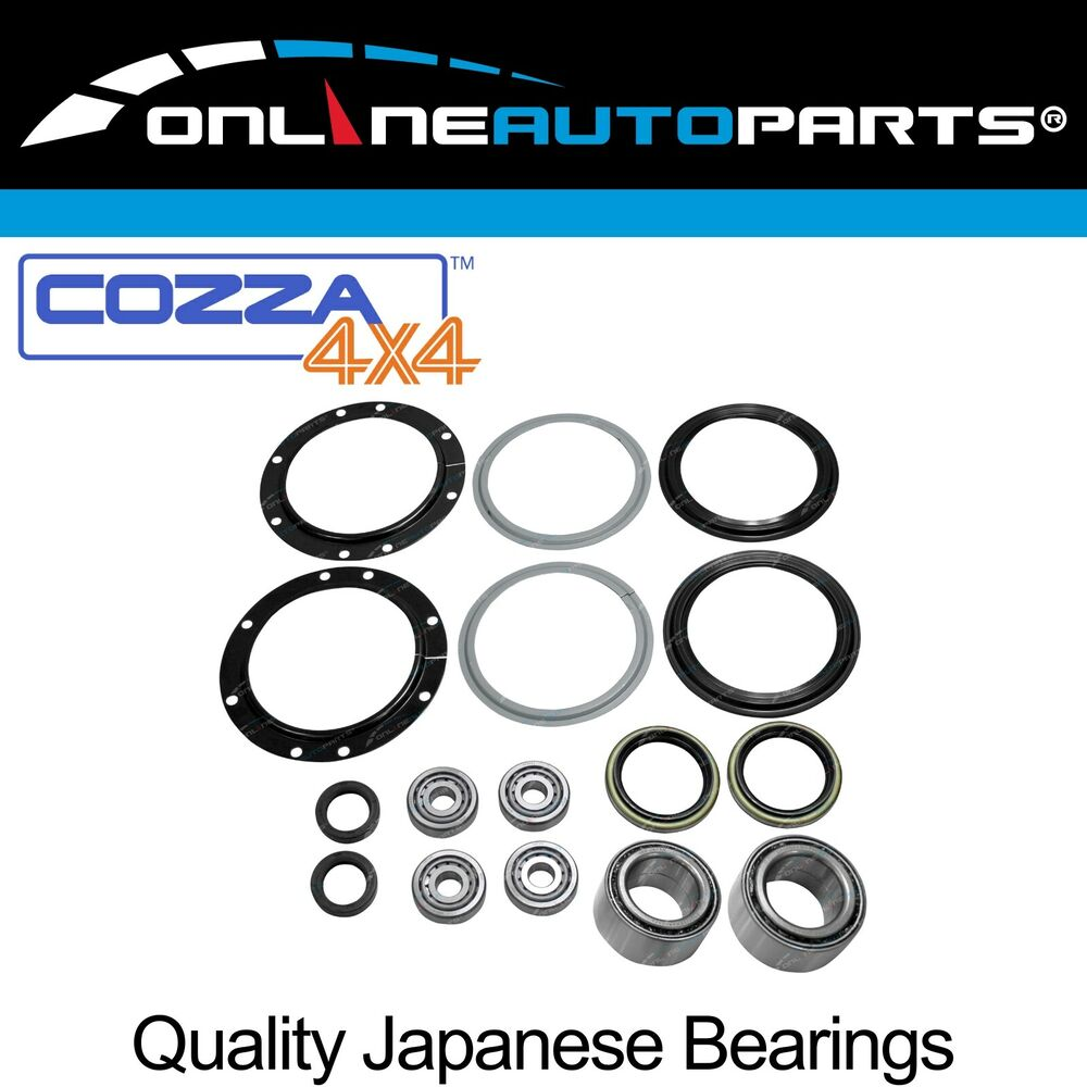 Front Wheel Bearing + Swivel Hub Kit Suzuki Jimny 4wd