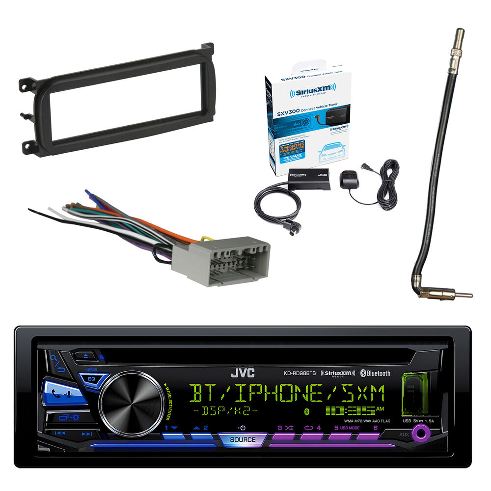 medium resolution of details about jvc stereo bluetooth w radio tuner dash kit antenna adapter wiring harness