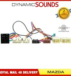 ct10mz01 iso parrot harness adaptor wiring loom lead for mazda rx 7 1993 2000 3781144900544 ebay [ 1000 x 1000 Pixel ]