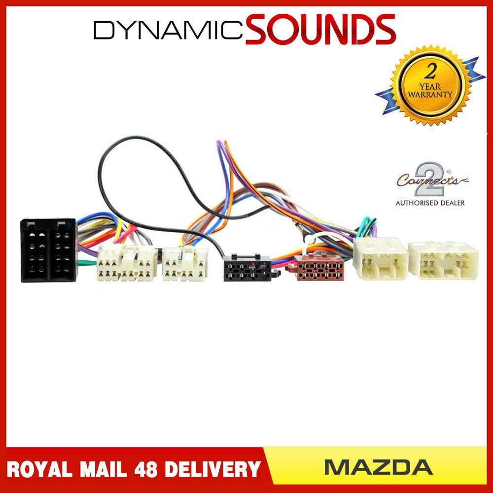 hight resolution of ct10mz01 iso parrot harness adaptor wiring loom lead for mazda rx 7 1993 2000 3781144900544 ebay