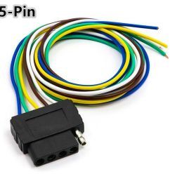 details about 36 signal light wiring harness extension cable cord 5 pin adapter for trailer [ 1000 x 1000 Pixel ]