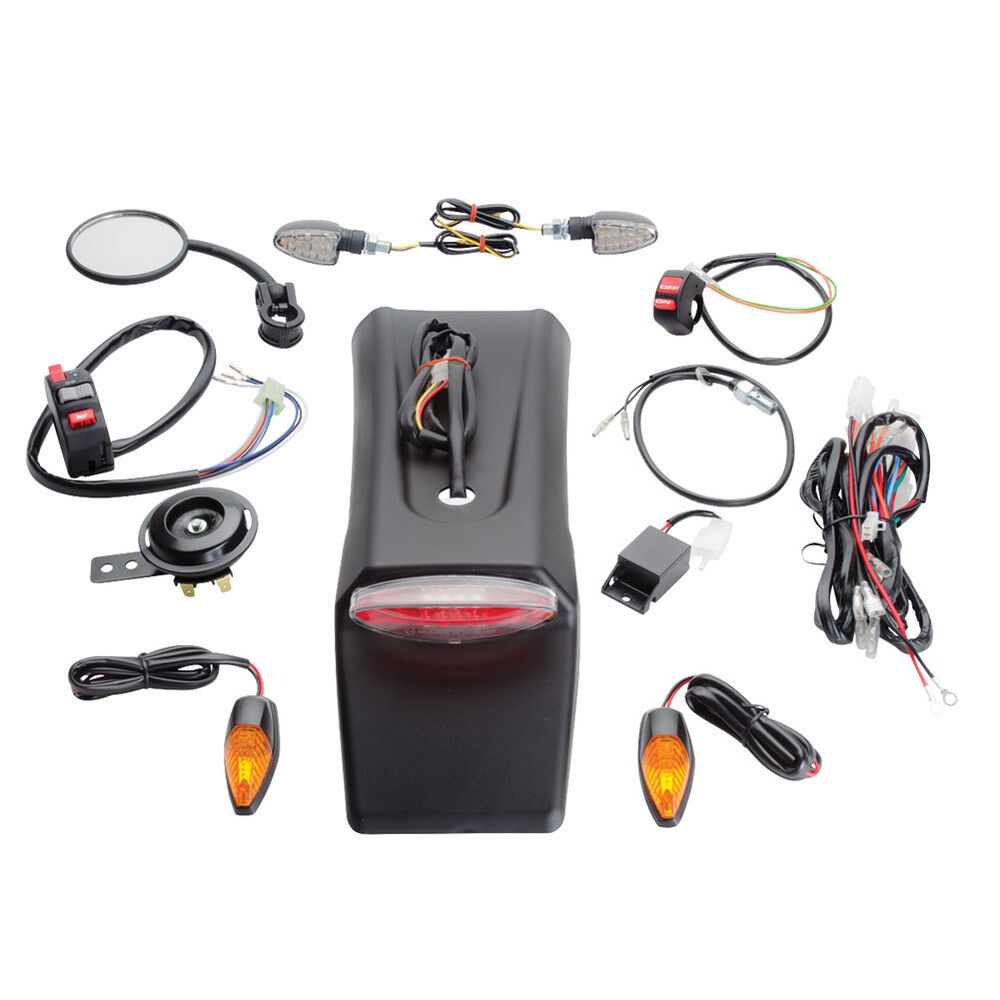medium resolution of details about tusk enduro dual sport lighting kit street legal wr250f wr450f yz450fx rmx450