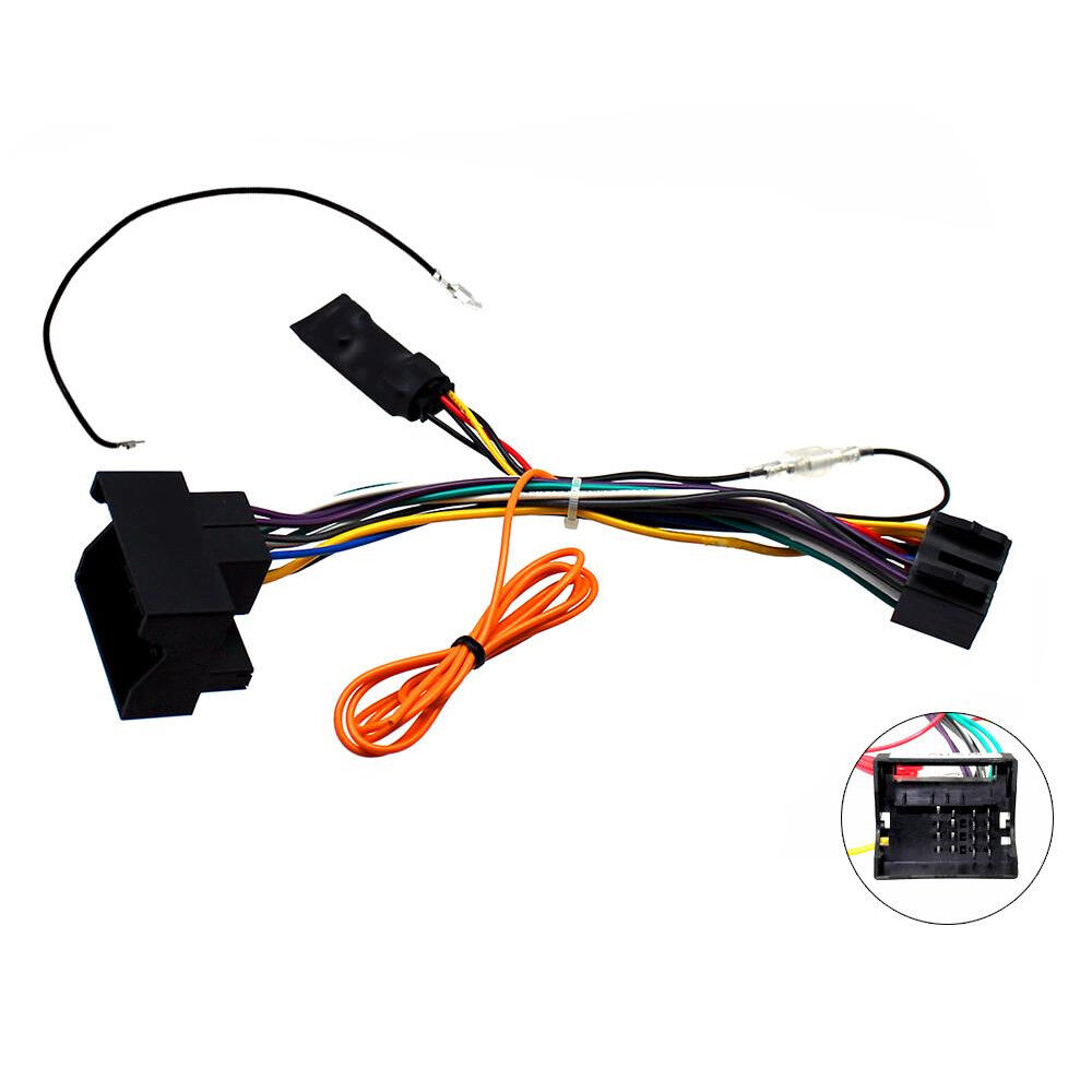 medium resolution of details about mercedes a b c r class clk gl ml canbus car stereo iso lead w 12v ignition feed