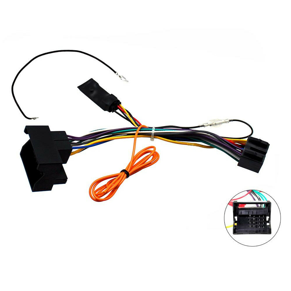 hight resolution of details about mercedes a b c r class clk gl ml canbus car stereo iso lead w 12v ignition feed