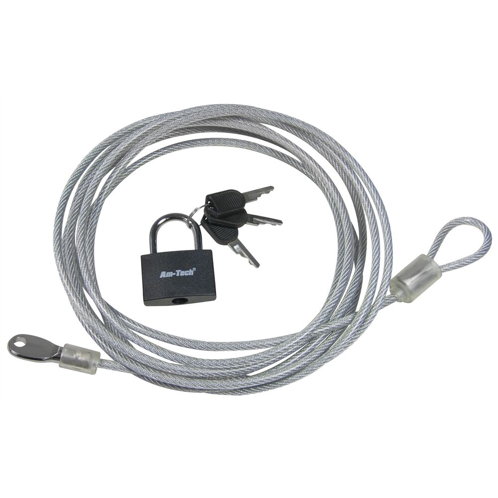 3M SECURITY CABLE LOCK STRONG STEEL WIRE SAFETY BIKE