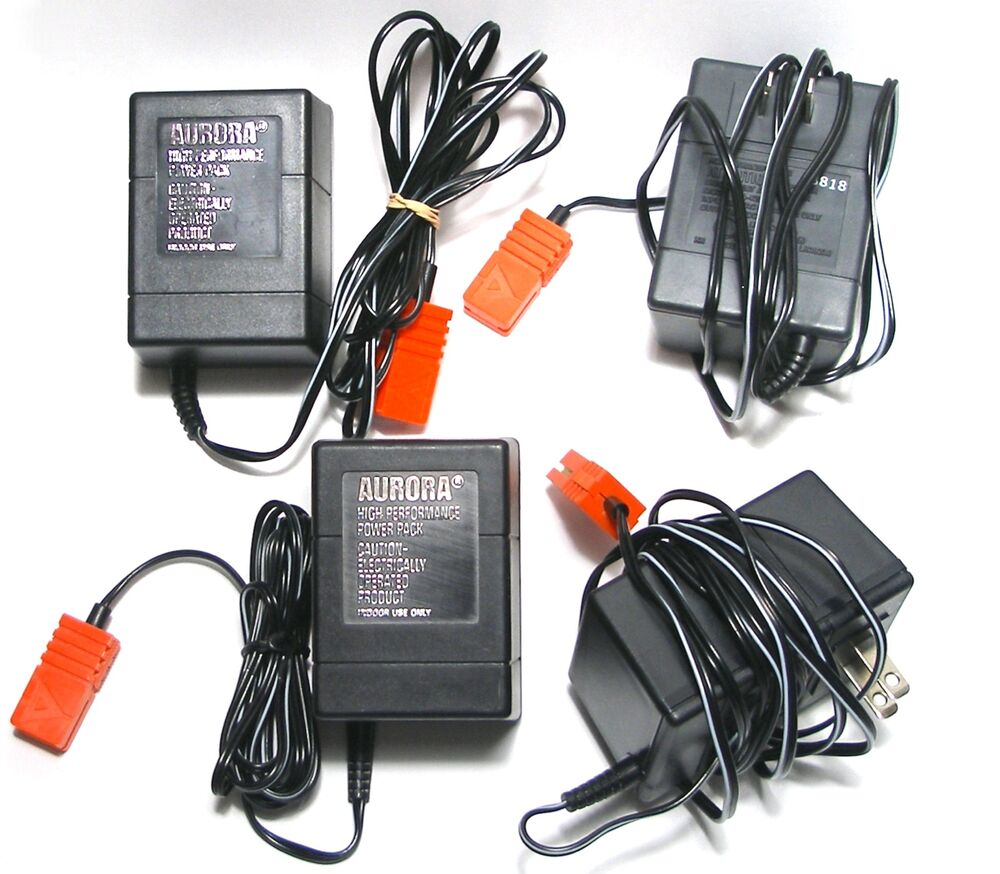 medium resolution of details about 4pc 1986 tomy afx ho slot car 22v dc transformer great to have 1 for each lane