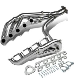 details about fit 99 04 ford f250 f350 sd 6 8l v10 long tube exhaust header manifold w y pipe [ 1000 x 1000 Pixel ]