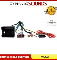 details about ct20au08 half amplified radio wiring harness adaptor for audi a3 a4 a6 tt [ 1000 x 1000 Pixel ]