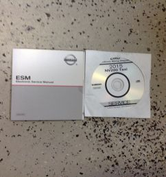 2015 nissan nv200 nv 200 taxi electrical wiring diagram manual cd new ebay [ 1000 x 1000 Pixel ]