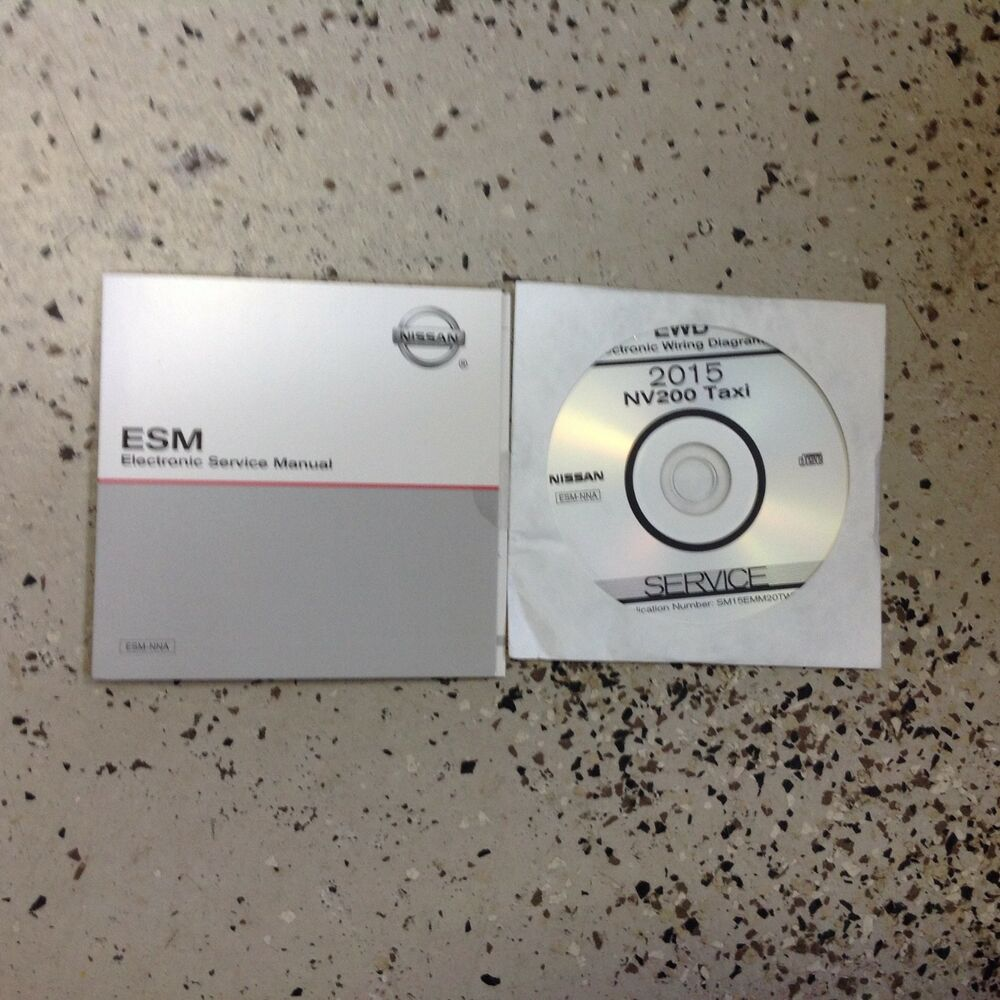 hight resolution of 2015 nissan nv200 nv 200 taxi electrical wiring diagram manual cd new ebay
