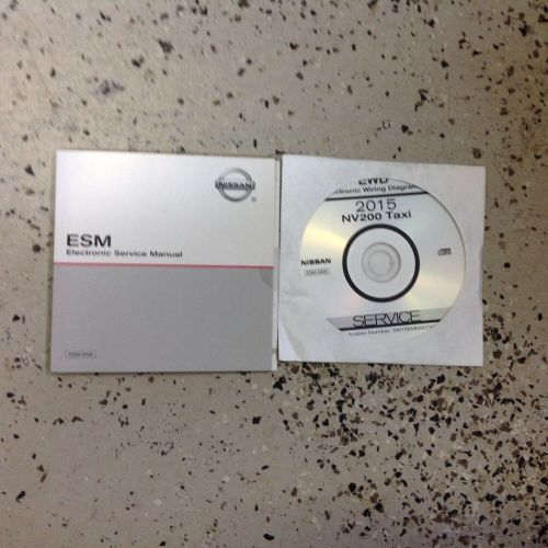 small resolution of 2015 nissan nv200 nv 200 taxi electrical wiring diagram manual cd new ebay