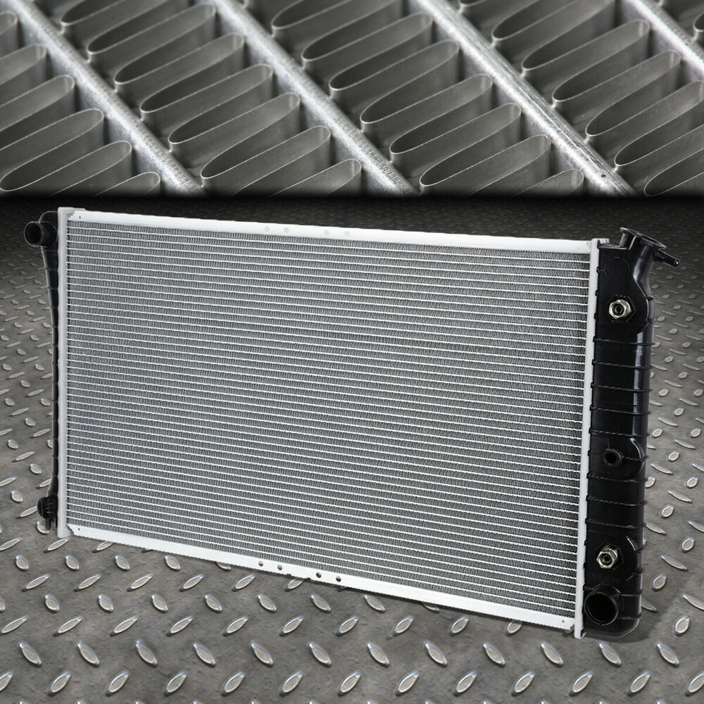 medium resolution of details about for 88 99 oldsmobile 98 buick lesabre 3 8 at oe aluminum core radiator dpi 1202