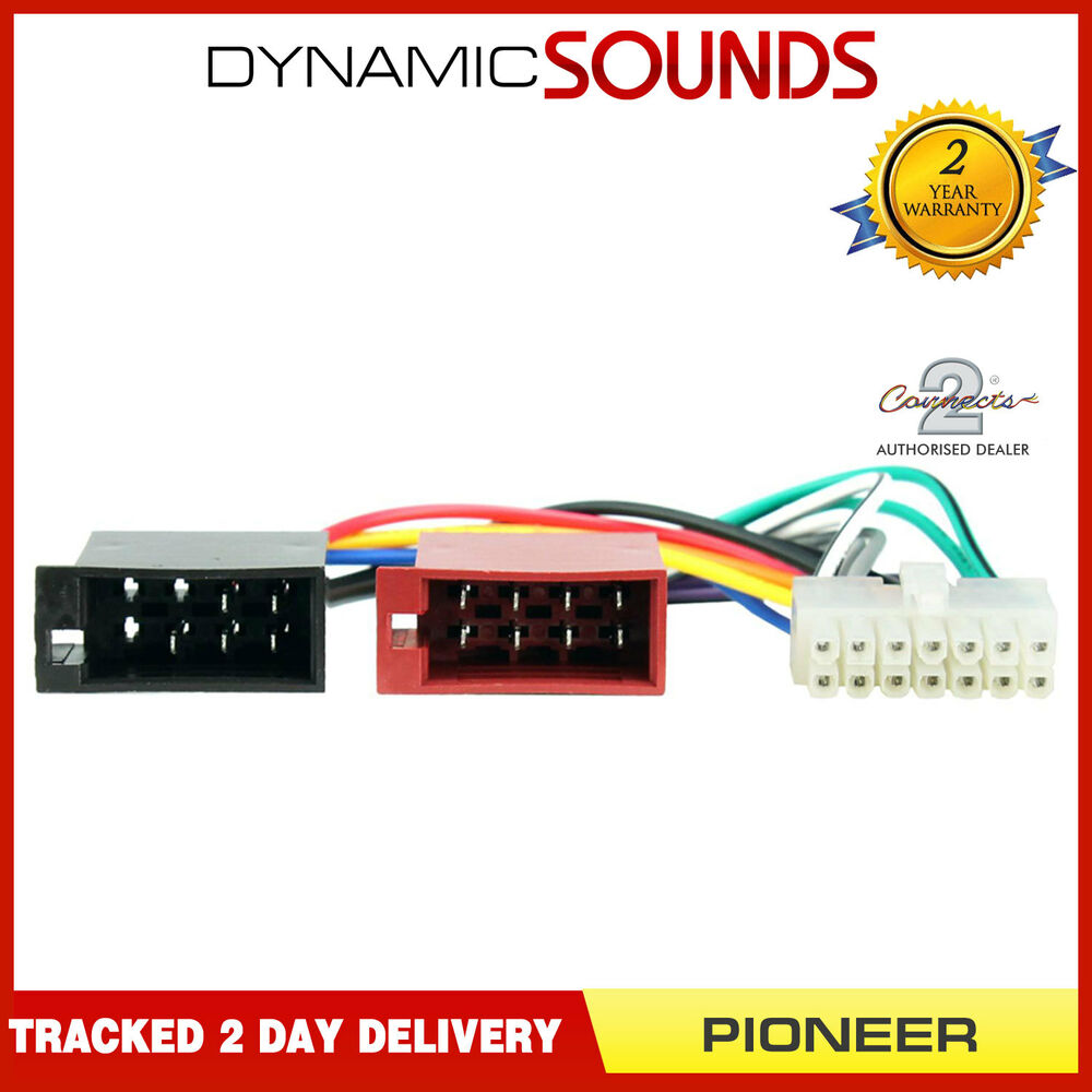medium resolution of details about ct21pn02 14 pin iso head unit replacement car stereo wiring harness for pioneer
