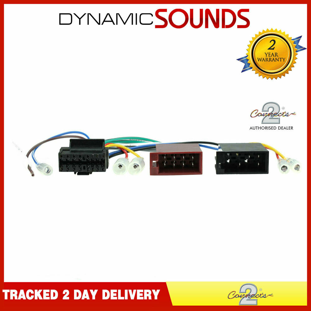 medium resolution of details about sony 16 pin iso car stereo replacement radio wiring harness lead ct21so01