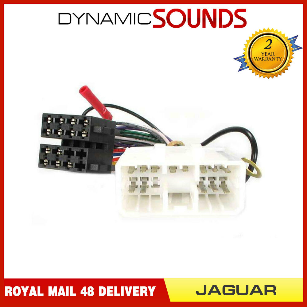 hight resolution of details about pc2 66 4 car stereo wiring harness adaptor iso lead for jaguar