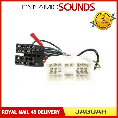 small resolution of details about pc2 66 4 car stereo wiring harness adaptor iso lead for jaguar