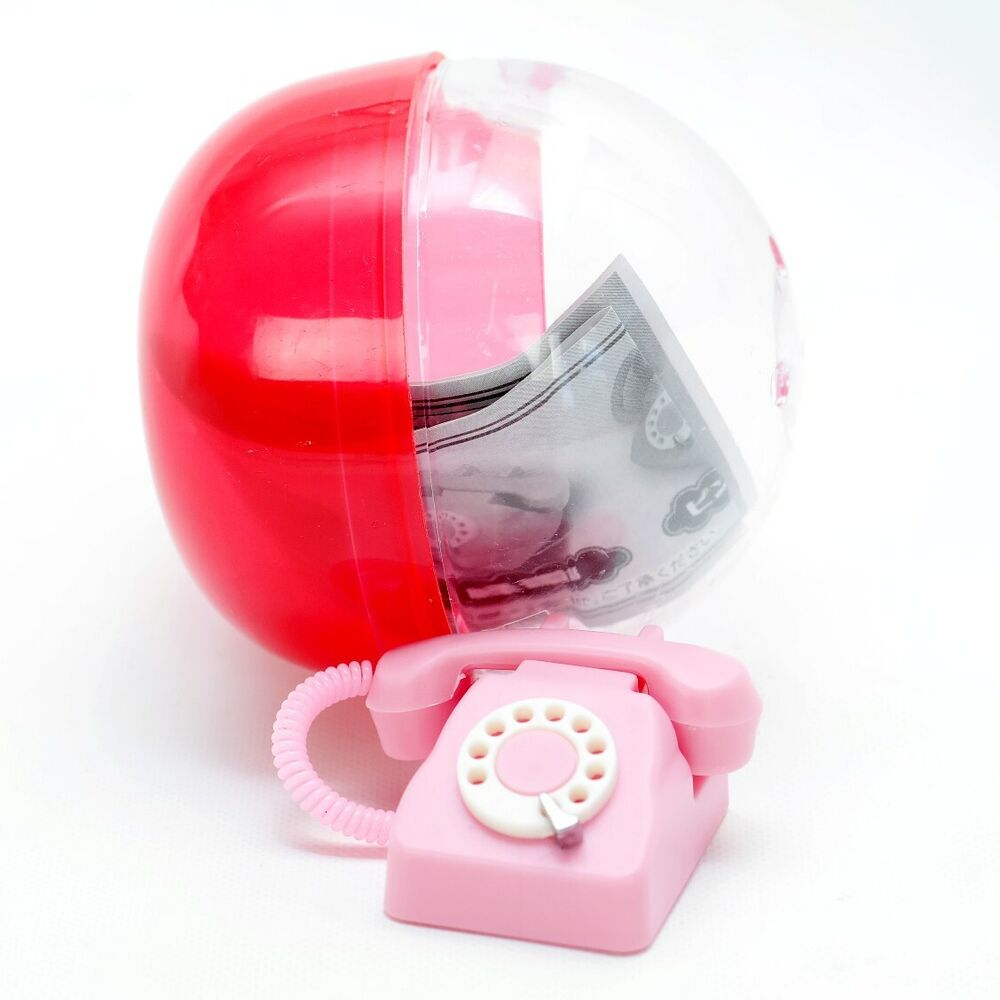 medium resolution of details about j dream miniature barbie dollhouse rotary corded phone 1 random gashapon toy