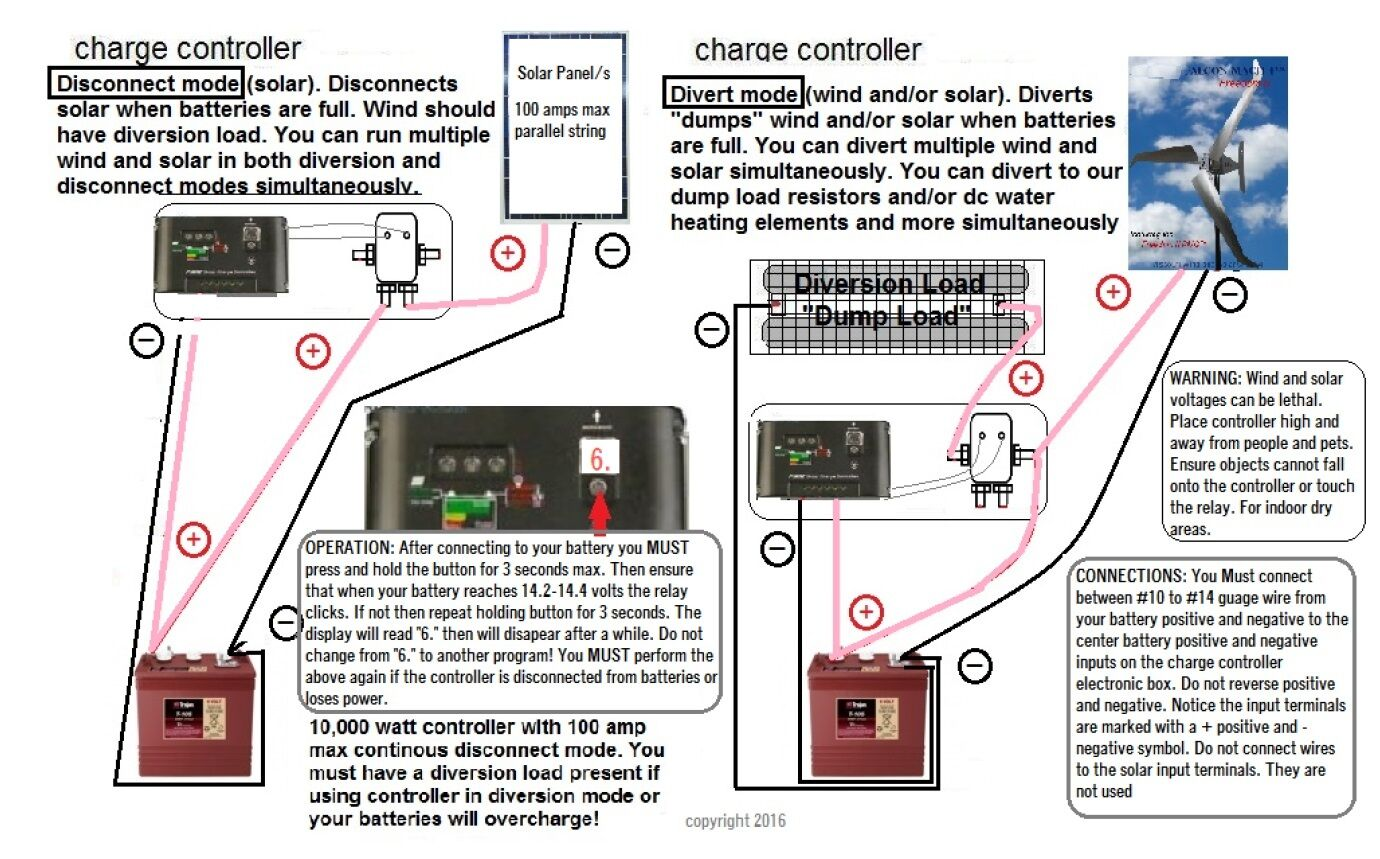 solar controller wiring diagram panel charge anonymerfo blaupunkt 520 12 volt 400 amp 10 000 watt for wind