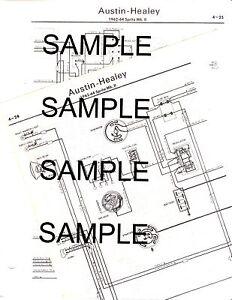 Wiring Diagram 1960 Austin Healey, Wiring, Free Engine