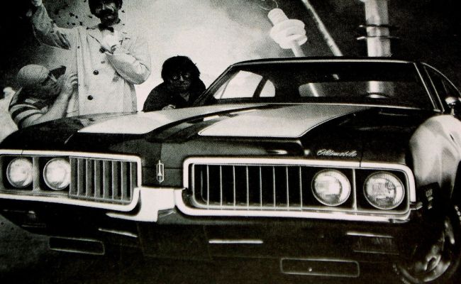 1969 Oldsmobile Cutlass 442 W 31 Print Ad Poster Sign