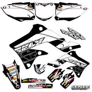 1998 1999 2000 KX 80 100 Graphics Kit Kawasaki KX80 KX100