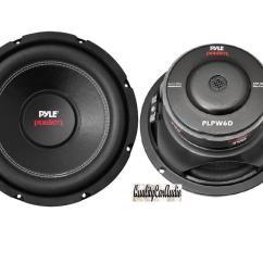 Dual Voice Coil Subwoofer Box Toyota Landcruiser 80 Series Wiring Diagram Pair Of New Pyle Plpw6d 6 5 39 1200 Watt 4