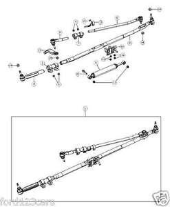 2003-2008 DODGE RAM STEERING LINKAGE DRAG LINK PITMAN ARM