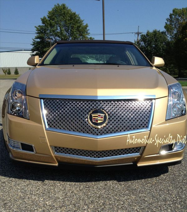 Painted 2008 Cadillac Cts Grill - Year of Clean Water