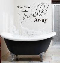 Bathroom Wall Art Quotes. QuotesGram