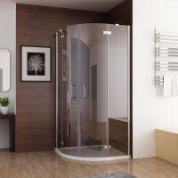 Duschkabine Runddusche Duschabtrennung Dusche Echtglas ...