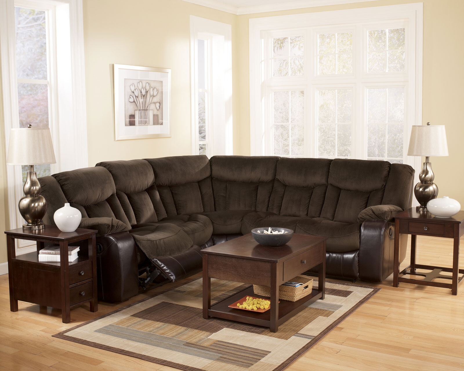 faux leather reclining sofa set sand bag gray microfiber recliner couch living room