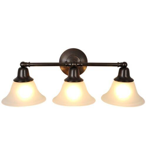 Rubbed Bronze Bathroom Light Fixtures