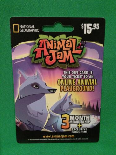 animal jam 3 month