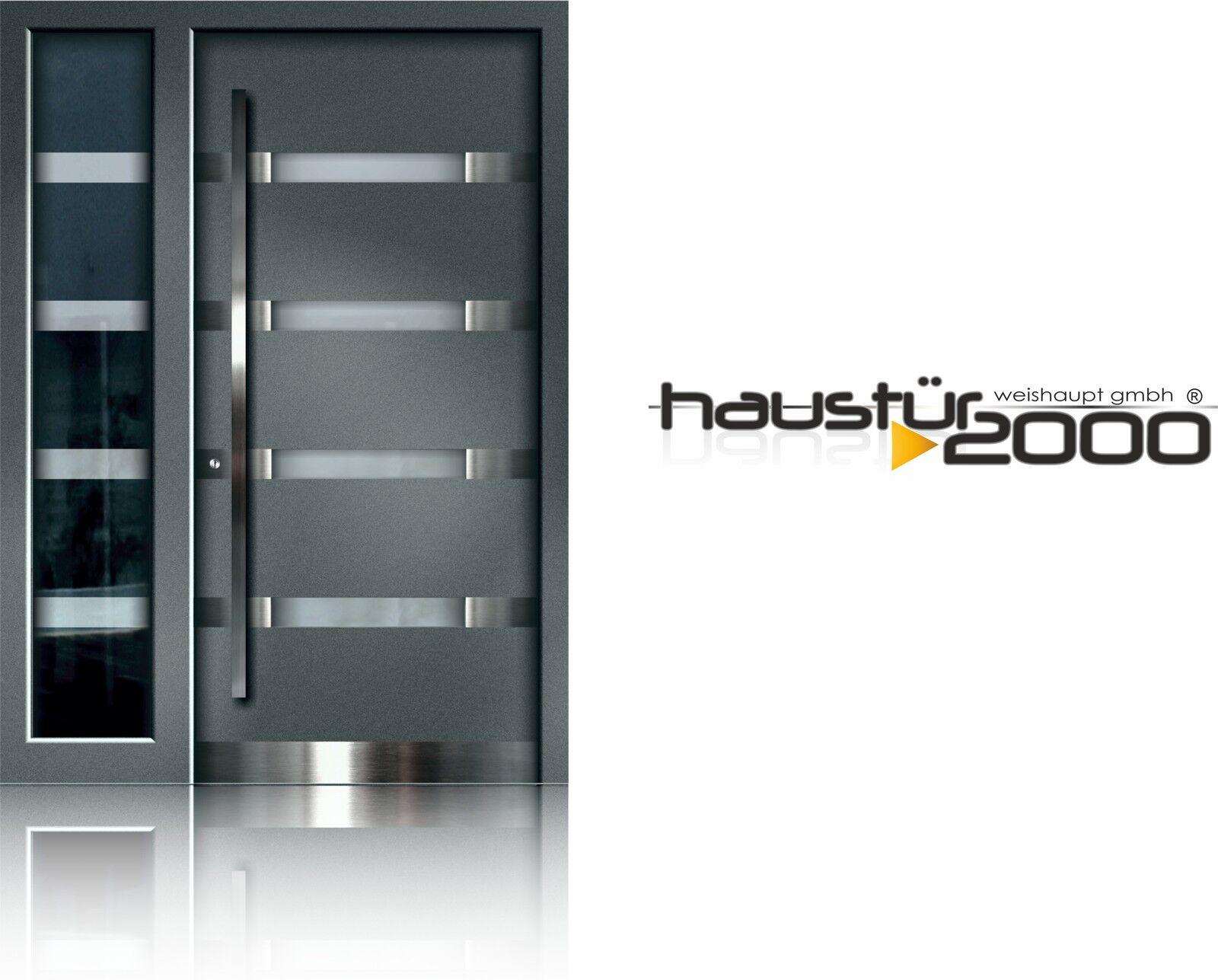 Aluminium Haustur Alu Haustur Hausturen Flugeluberdeckend