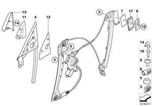 BMW Window Regulator Slider Clip E36/E85/E86/E92/E93 3
