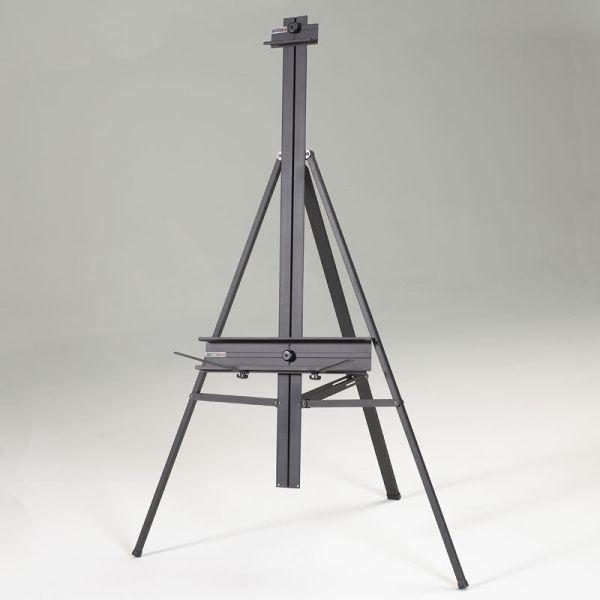 Black Aluminum Artist Art Studio Floor Display Easel