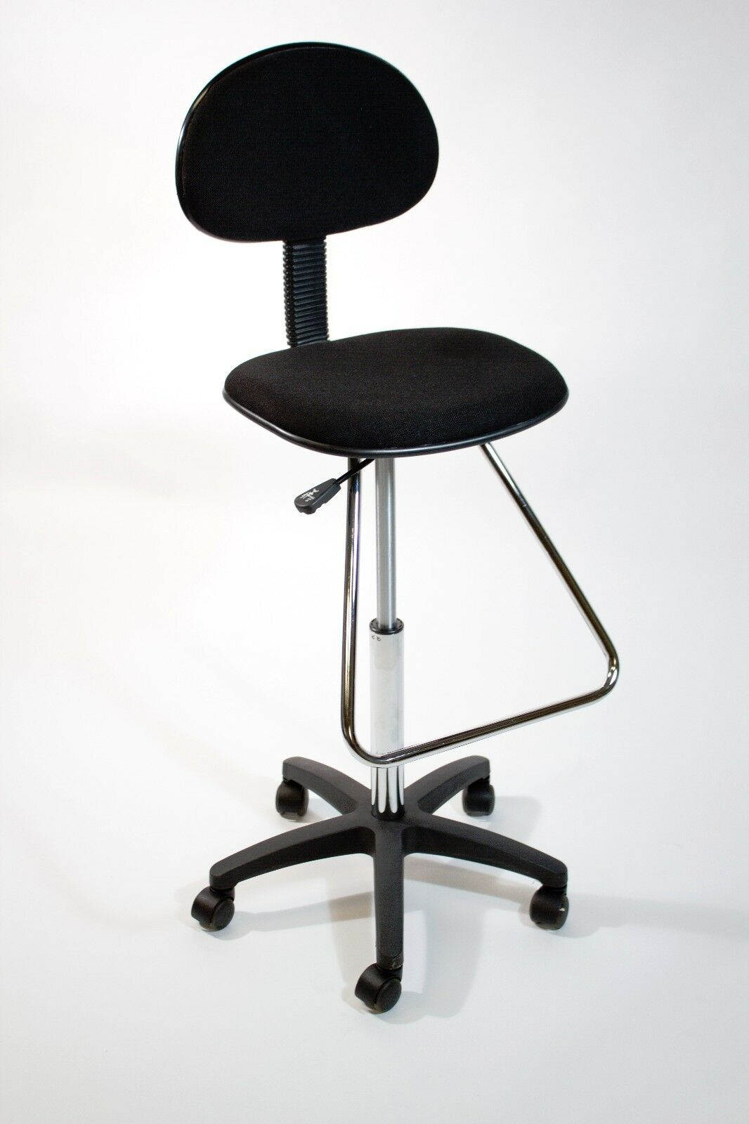 Black Drafting Counter Height Stool Chair  Art Bank