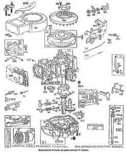 Briggs Stratton Owners Parts Service Manual 3 HP 3 5 HP 4